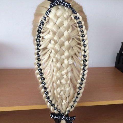 basket ribbon braid