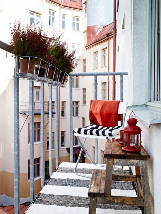 Terrasse, kleine wohnungen and design on pinterest