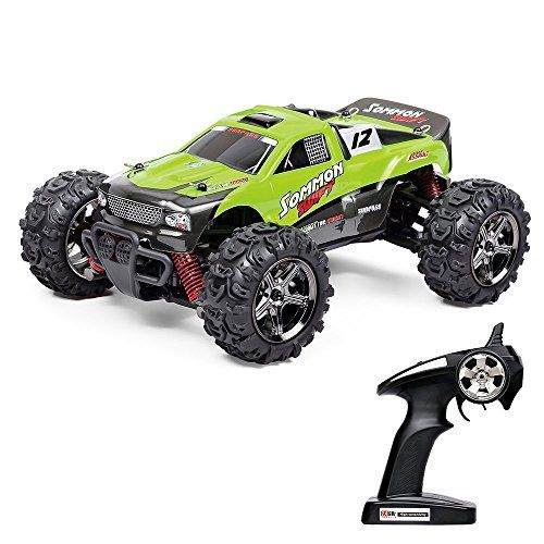 Vatos RC Car Off Road High Speed 4WD 40km/h 1:24 Scale 50M #Remote #Control 30mins Playing Time 2.4GHz Electric #Vehicle with Rechargeable Battery (Charger Included) (Green)  Full review at: http://toptenmusthave.com/best-rc-cars/