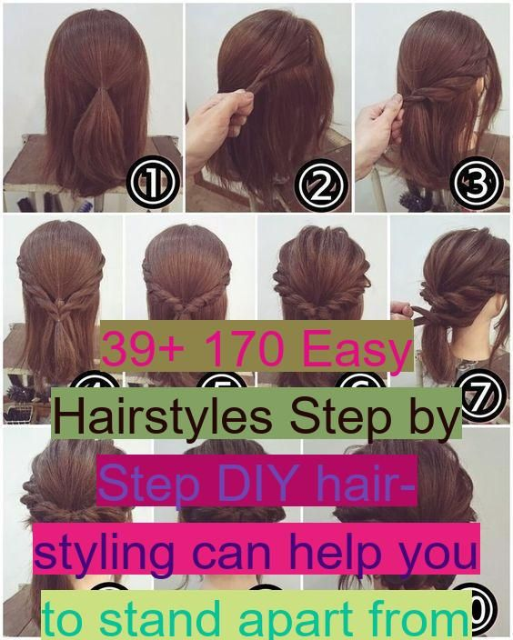 39 170 Easy Hairstyles Step By Step Diy Hair Styling Can Help You To Stand Apart From The Crow In 2020 Diy Hairstyles Easy Hairstyles Hair Styles
