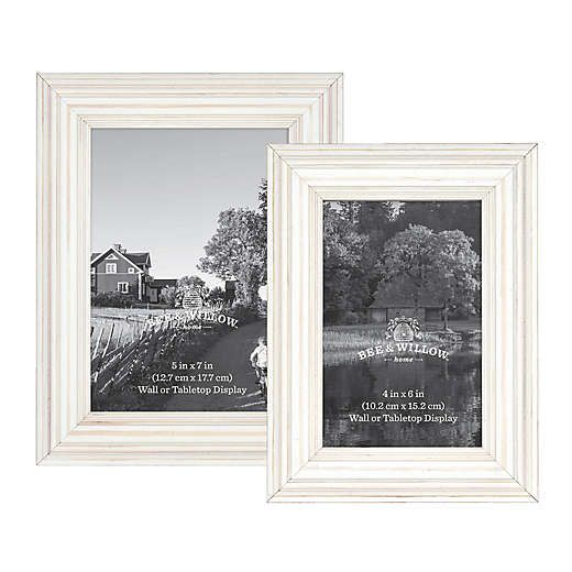 Bee Willow Home Wooden Picture Frame In Cottage White Wooden Picture Frames Wooden Picture Picture Frames