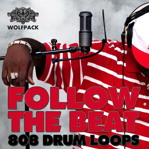 """Follow The Beat – 808 Drum Loops"" gives you 15 monstrous drum loops, carefully crafted to capture the very essence of the best producers in the game.  These drum loops are provided as full loops and with all individual stems (kick, snare, hihats, percussion, chants etc.) exported to give you maximum flexibility.  Get ready to produce the hottest 808 anthems – just ""Follow The Beat""!"