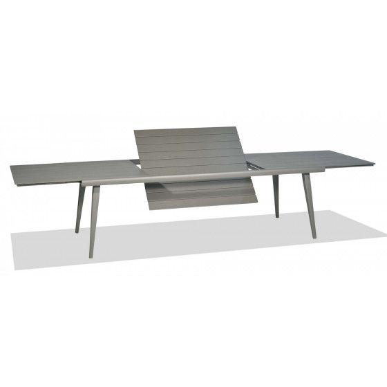 Samba Rio Gartentisch Ausziehbar Aluminiumgestell Tischplatte 240 350 Cm Von Roberti Gartentisch Tischplatten Tisch Und Stuhle