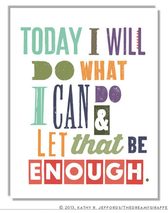 Motivational Gift Inspirational Quote Print by thedreamygiraffe
