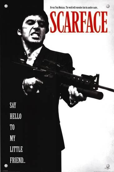 Scarface Posters Scarface Movie Friends Poster Scarface Poster