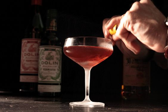 A classic Affinity cocktail recipe.   My drink recipe app recommends a different ratio and orange bitters instead of Angostura. It recommends 1.5 oz scotch, 1 oz dry v, 1 oz sweet v, 2 dashes orange bitters. Neither is great. Try it with one dash of orange and one dash of aromatic instead.