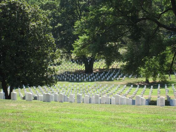 Arlington Cemetery.... Where my mother is buried.