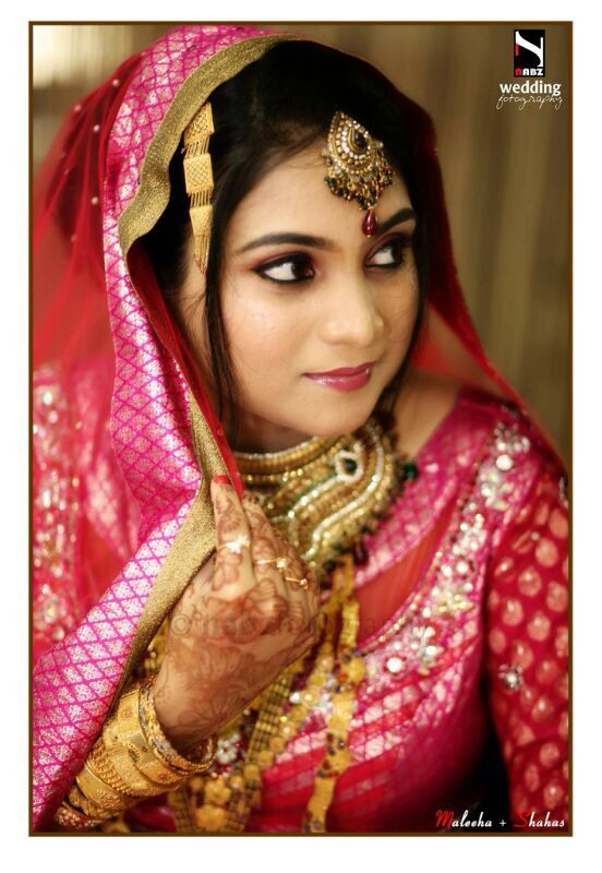 Muslim Beautiful Bridal Makeup : #Wedding Makeup, #Muslim Bride, #Kerala, #Bridal Makeup ...