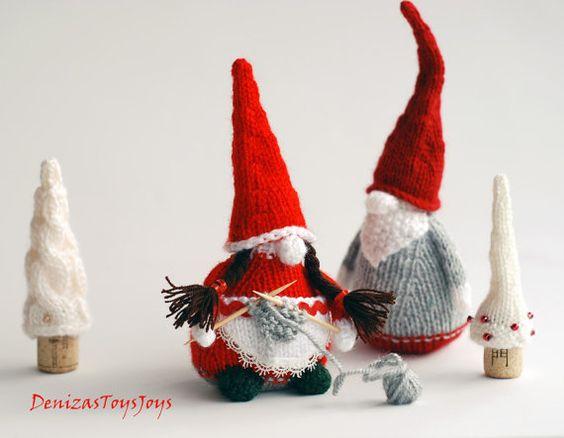 Christmas Gnome Knitting Pattern : Pinterest   The world s catalog of ideas