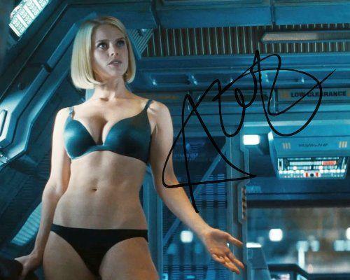 Star Trek Into Darkness Alice Eve As Carol Marcus Signed Photo