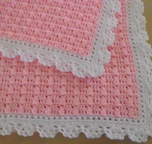 Cobija o Manta para Bebé a Crochet Fácil y Rápida