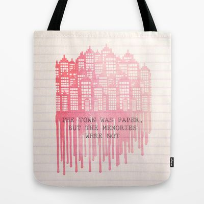 Paper Towns Tote Bag #johngreen #totebag #society6 #papertowns