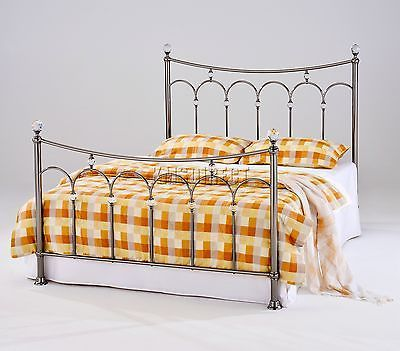 FoxHunter Nickel Plated Metal Bed Frame Bedstead 4FT6 Double Black With Crystals https://t.co/YowhmFgFdK https://t.co/mzC502S3dG