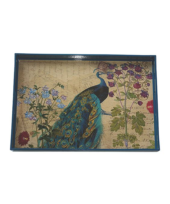 Another great find on #zulily! Peacock Tray by Boston Warehouse #zulilyfinds