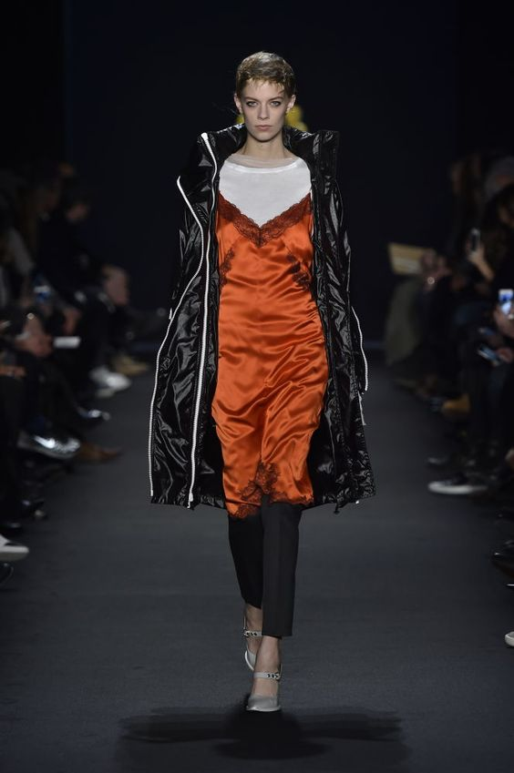 Rag and bone funky layering with a 90's vibe