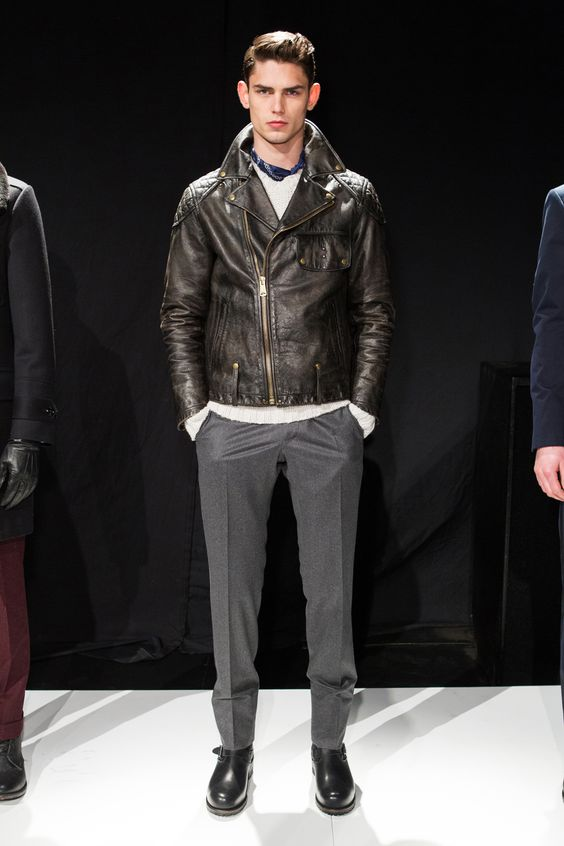 For the husband.. Arthure Gosse at Todd Snyder Fall 2013