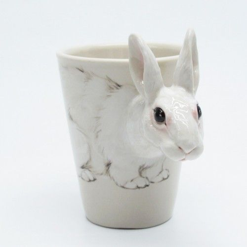 what are the chances that I'd fall in love with not one, but two rabbit drinking vessels?
