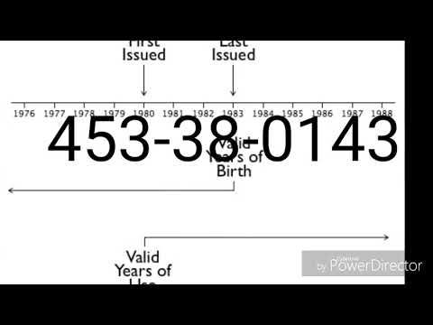 How To Verify A Ssn Cpn 2ssn Excel Templates Business Identity Fraud Teaching Internet Safety