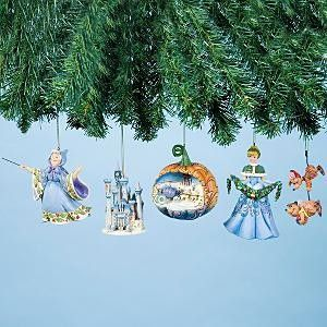 Cinderella Ornament Gift Set by Jim Shore