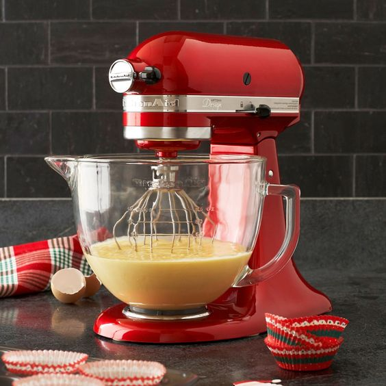 Kitchenaid artisan design series stand mixer 5 qt to for Sur la table mixing bowls