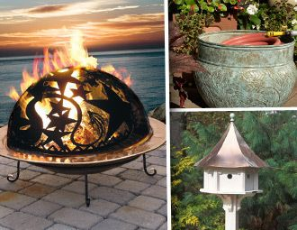 I pinned this from the Heathwood Living - Weathervanes, Fire Pits & More event at Joss and Main!