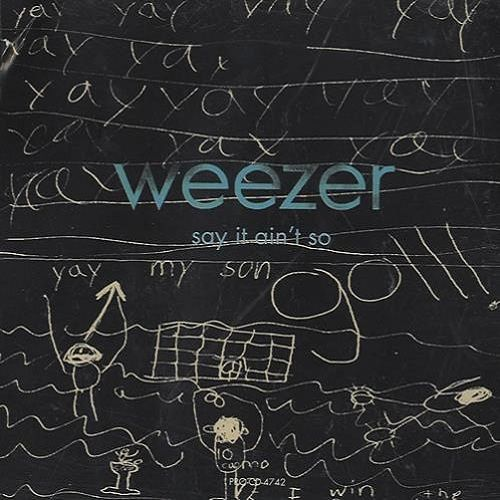 Weezer – Say It Ain't So (single cover art)