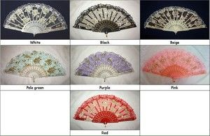 where can i purchase hand held fans | Flower Lace Hand Held Fan Goth Lolita Accessory Lady's Liked Fast SHIP ...