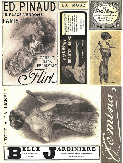 absolutely free collage sheets via Flickr