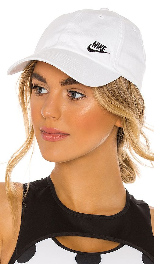 Nike Nsw H86 Cap Futura Classic Hat In Black Volt Revolve Classic Hats Hat Hairstyles Hats For Women