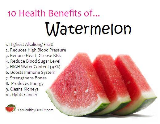 Benefits of Watermelon   10 Health Benefits of Watermelon.