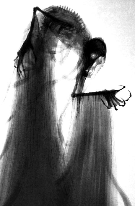 skeleton silhouette puppet photo This is wonderful! I love how you see through the cloth....