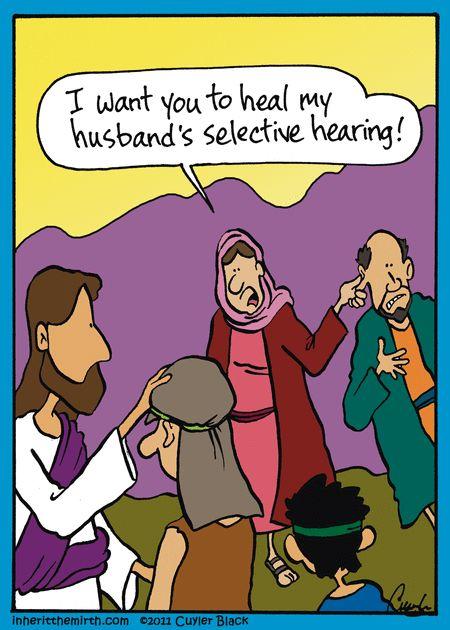 Church humor: