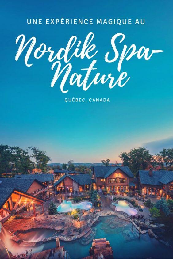 Connaissez-vous le Nordik Spa-Nature? Il s'agit du plus grand spa en Amérique du…