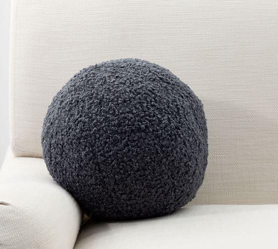 Cozy Sherpa Ball Pillow | Pillows, Cozy