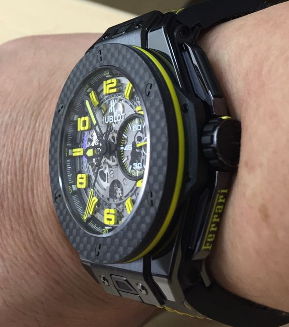 Hublot Big Bang Yellow