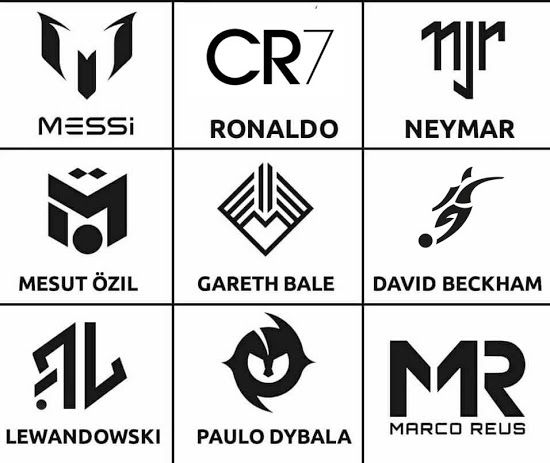 Which Footballer Has The Best Logo Here Are 12 Player Signature Logos Footy Headlines Messi Logo Football Logo Soccer Logo