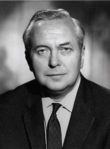 """Harold Wilson, Prime Minister in the UK (1964 to 1970) - He's the inspiration behind The Beatles' song, """"Taxman"""""""