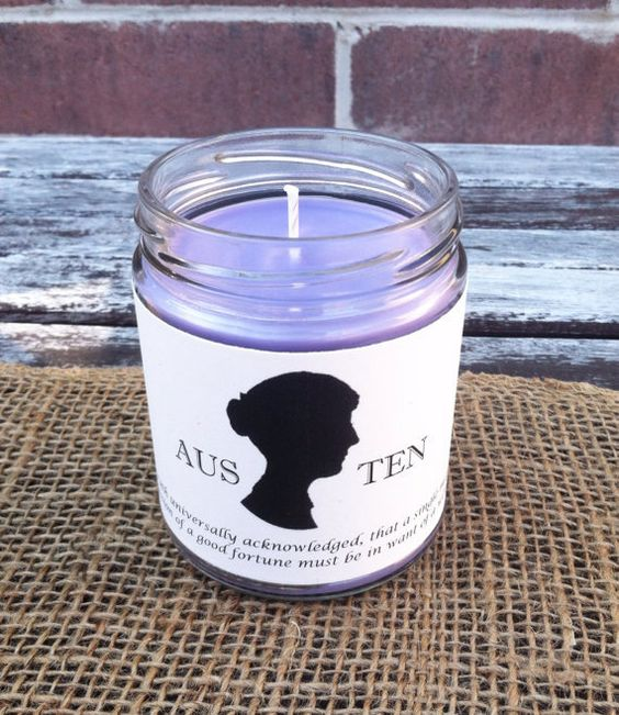 Buy 3 Get 1 Free All literary jar candles by PenAndCandle on Etsy