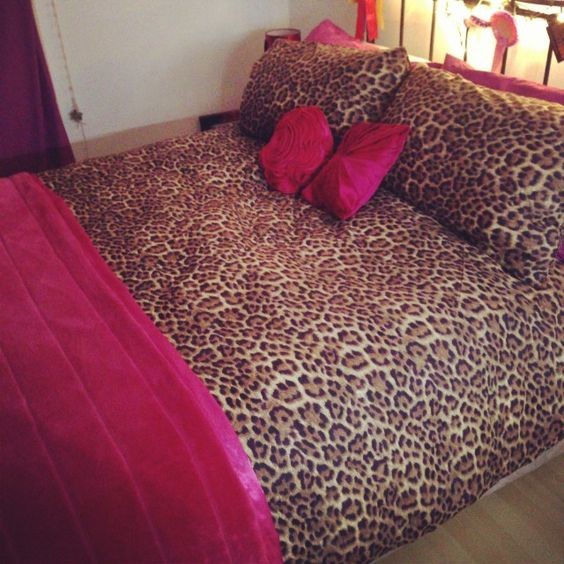 Pink and Cheetah