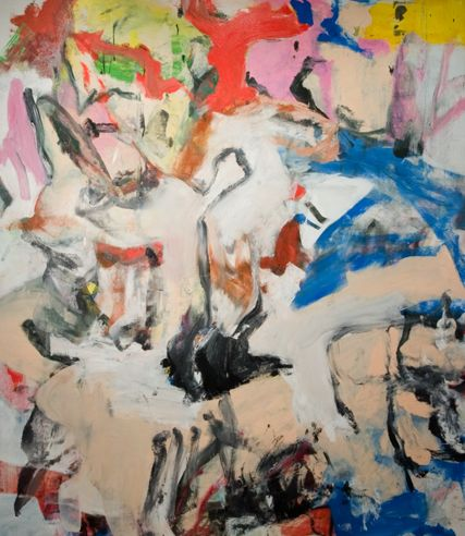 """""""The inspiration for my spring collection is drawn from the abstract lines we see in many of Willem de Kooning's painting,"""" Jennifer Fisher says.   - ELLE.com"""