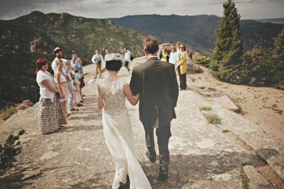 On Top of a Mountain | Etsy Weddings BlogEtsy Weddings Blog