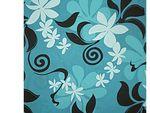 Hibiscus Wave Turquoise