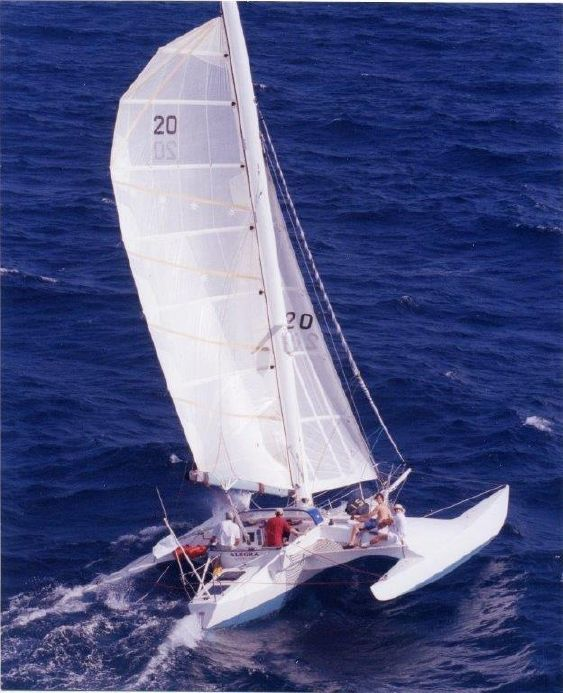 "1985 Newick ""TRICIA"" Trimaran Sail Boat For Sale - www.yachtworld.com"