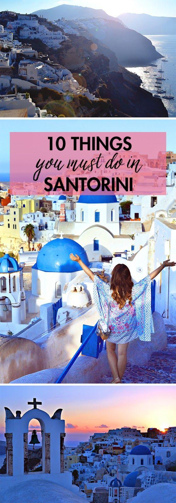 10 Things You Must Do in Santorini - History In High Heels