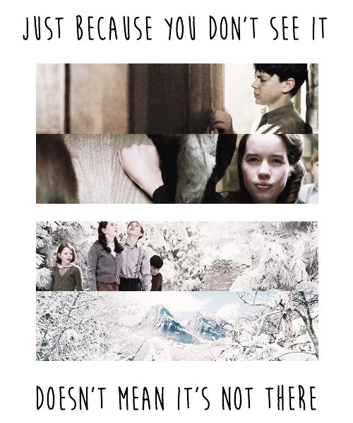 Not sure if maybe I should pin this to my Quotes or Bible+Inspiration boards too... Narnia: