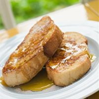 Baked French Toast with Orange Syrup by Makers of LACTAID® Brand Products