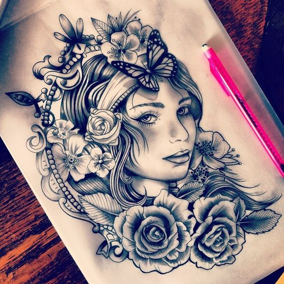 really want a gypsy tattoo to represent how much i love to travel