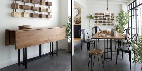 10 Space Saving Dining Tables For Your Tiny Apartment | Space Saving Dining  Table, Tiny Apartments And Train Table