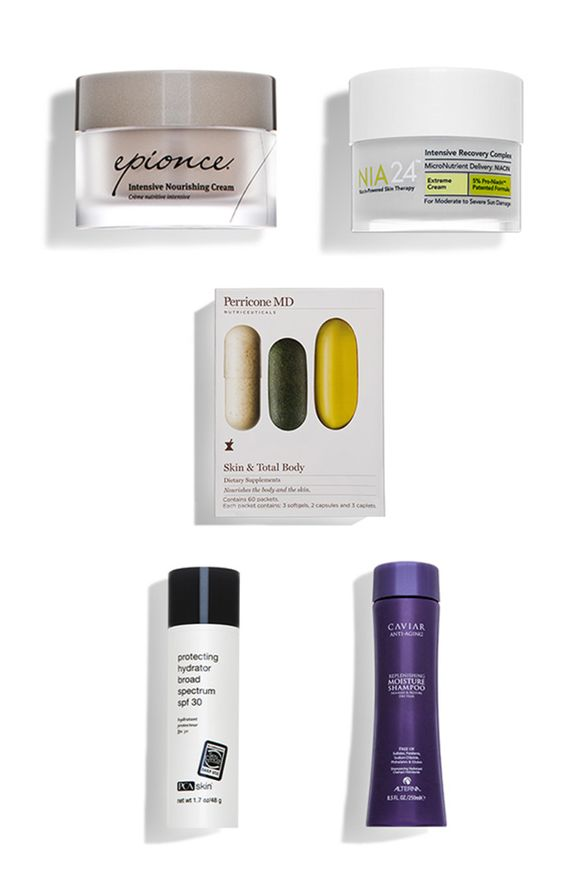 Skin + hair hydrators we've been loving lately.