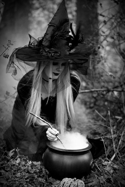 The Witching Hour. | #Halloween #witch #witchy #witchinghour